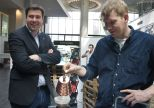 "Volker Eigenbrodt, dispatch manager of ""Best Brew"" Coffee Equipment Company is brewing something delicious"