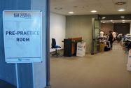Pre-training room