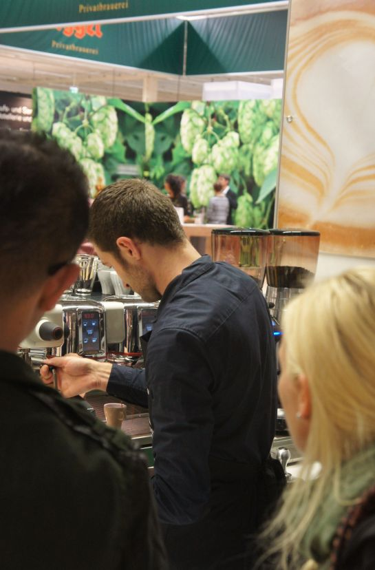 Christian Ullrich! World Latte Art Champion 2014